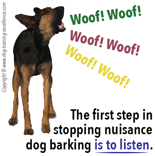 Stop dog barking by dog training excellence