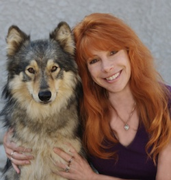 Nicole wilde dog trainer with her dog
