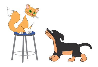 Cats And Dogs Drawings How to Draw a Free Dog