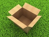 Open box in grass by Illia-Uriadnikov