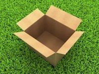 Open box in grass by Illia-Uriadnikov