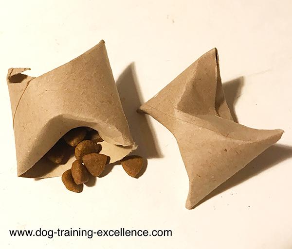 DYI dog toys, home made dog toys, slow feed dog bowls